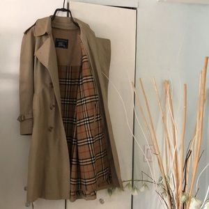 Burberry Vintage Trench Coat and Vest